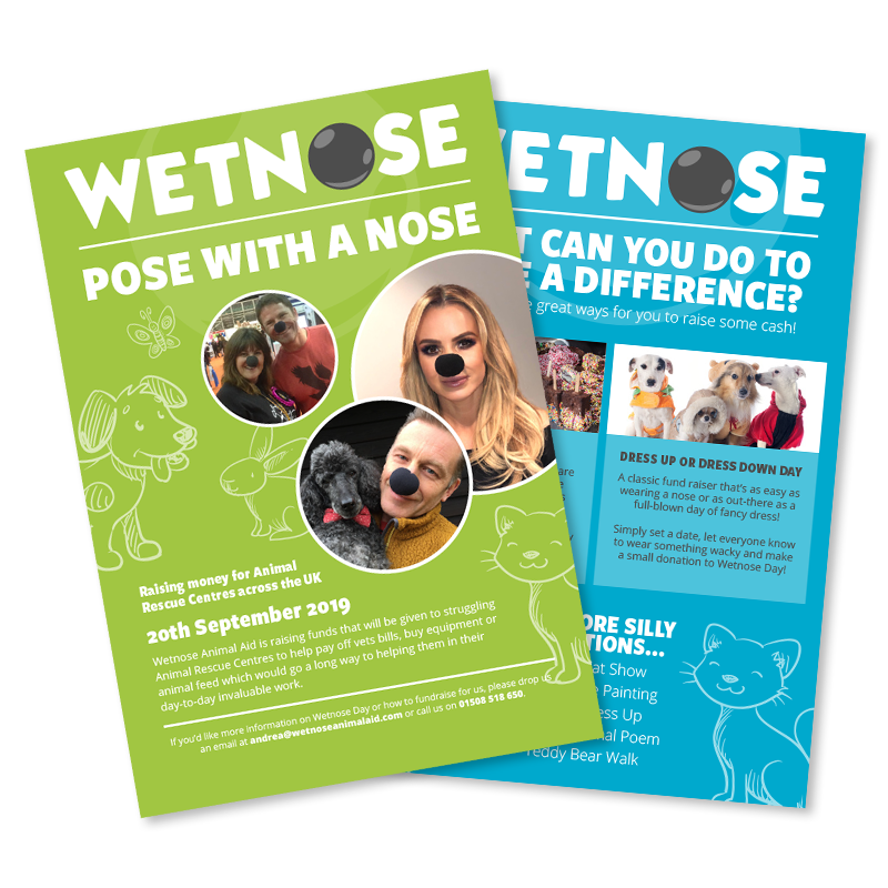 Wetnose Day Fundraising Pack - posters