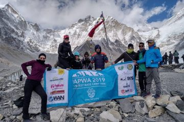 IAPWA Everest base camp trek 2019
