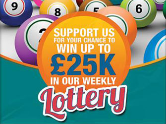Win Up To £25K In Our Weekly Lottery